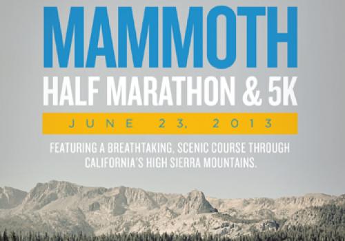 Inaugural Mammoth Half Marathon
